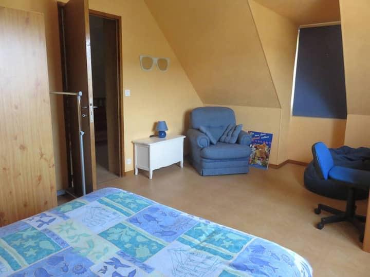 Au plus proche de la nature à Poissons (chambre 2)