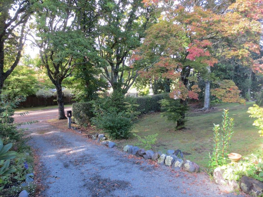 short driveway