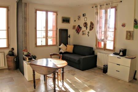 Chambre privée et salon dans maison de village - Banyuls-sur-Mer - House