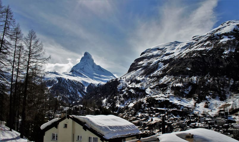 Best Matterhorn view in town, right from your balcony
