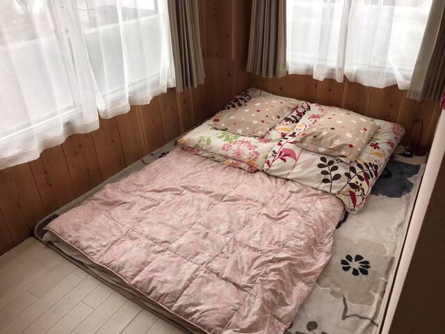 RoomD: 2min from Kawaguchiko sta.