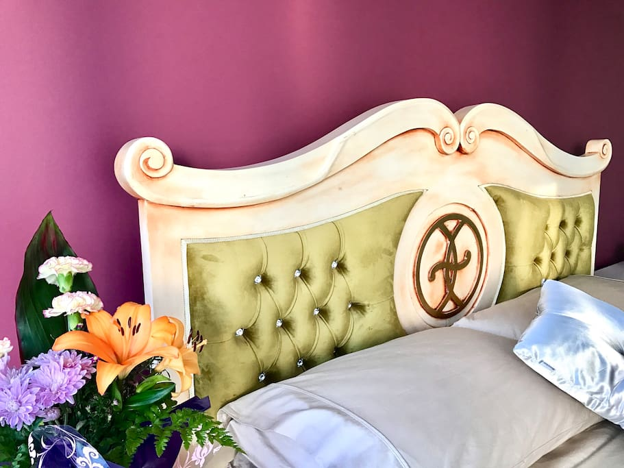 Queen room is available for short stays.