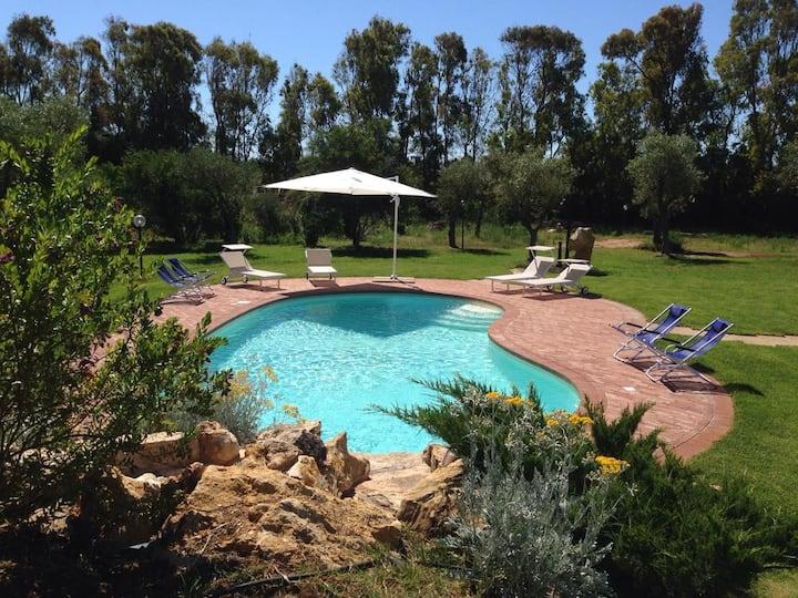 Villa Oigar: fresca, accogliente e nuovissima