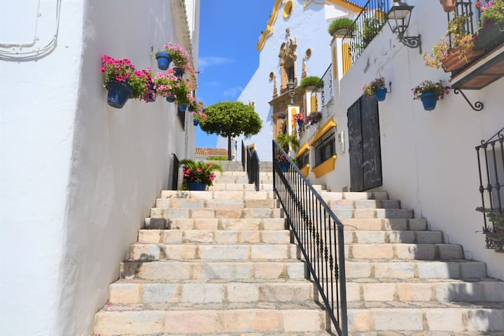old town apartment in estepona