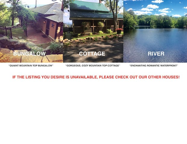 """Search for: """"GORGEOUS, COZY MOUNTAIN TOP COTTAGE"""" Or """"ENCHANTING ROMANTIC WATERFRONT"""""""
