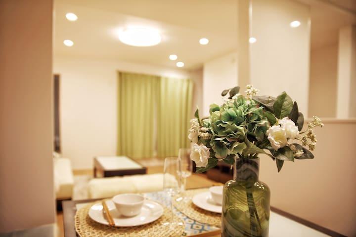 Room 1;Ikebukuro;FREE WIFI;双人床北池袋徒歩7分新築一軒家個室