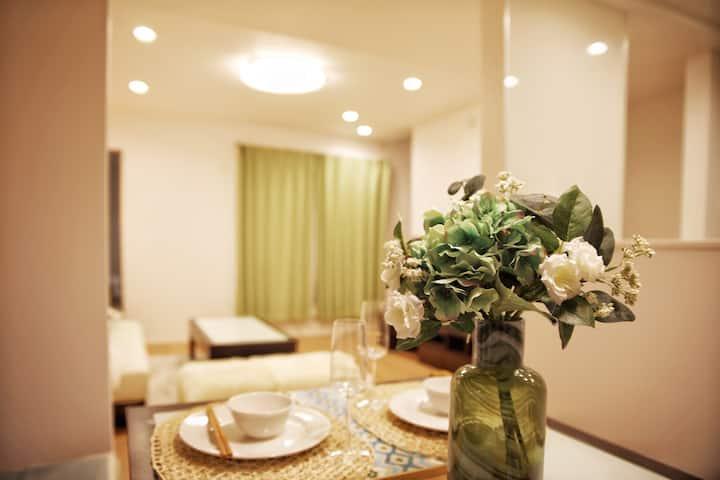 Room 1;Ikebukuro;FREE WIFI;北池袋徒歩7分新築一軒家;個室ダブルベッド