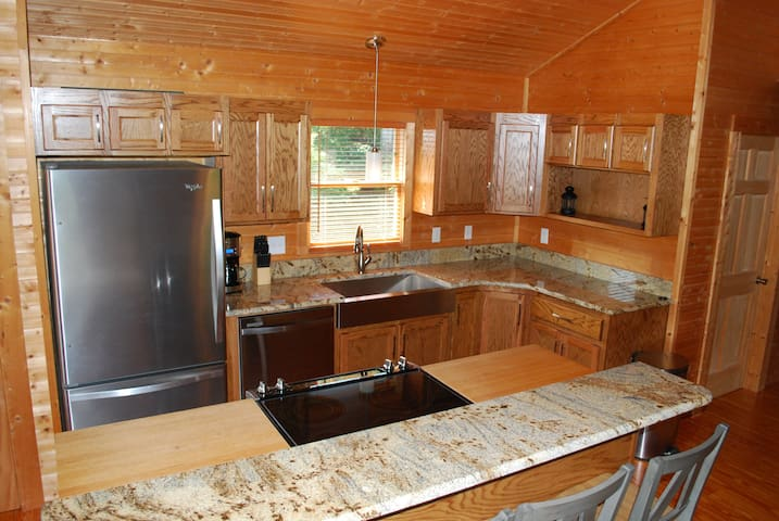 Dish washer, coffee maker and stove