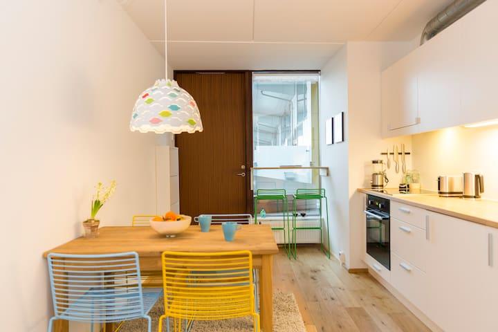 8 HOUSE, Bjarke Ingels - Copenhague - Appartement