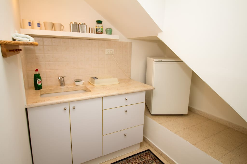 Kitchenette, tea and coffee included