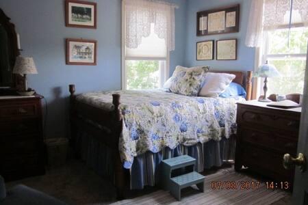 Historic Farmhouse Hydrangea Room