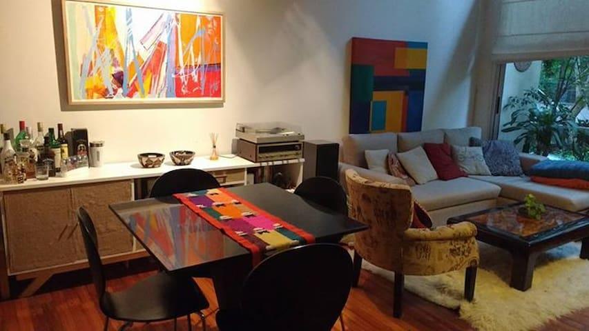 Departamento Loft 2 ambientes amueblado luminoso - San Isidro - Apartament