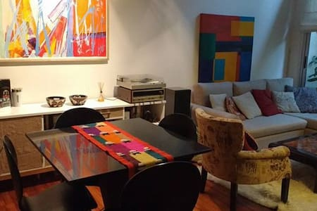 Departamento Loft 2 ambientes amueblado luminoso - San Isidro - อพาร์ทเมนท์