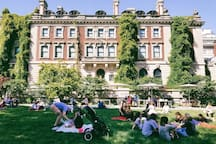 The iconic Cooper Hewitt Museum is home to the largest collection of contemporary and historic design pieces in the nation.