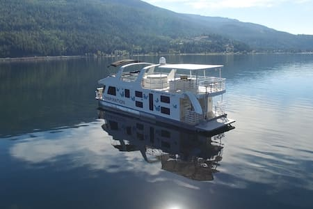 Luxury Houseboat on the Water - Sicamous - Barca
