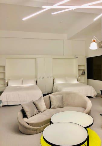 最美的全海景民宿 - Room102 壁爐海景四人房