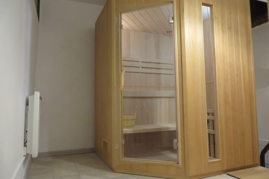 Sauna, à la demande
