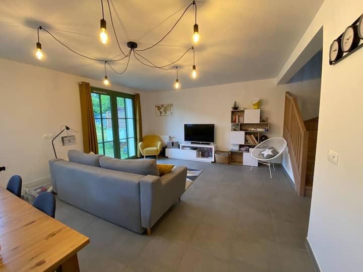Maison Familiale à 5 mn de Forêt de Fontainebleau