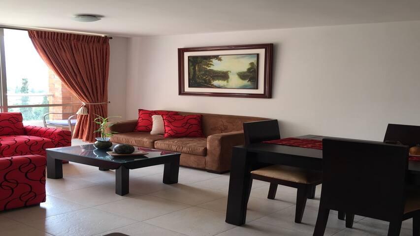 Hermoso Apartamento Amoblado Medellin 804 - Medellín - Apartamento