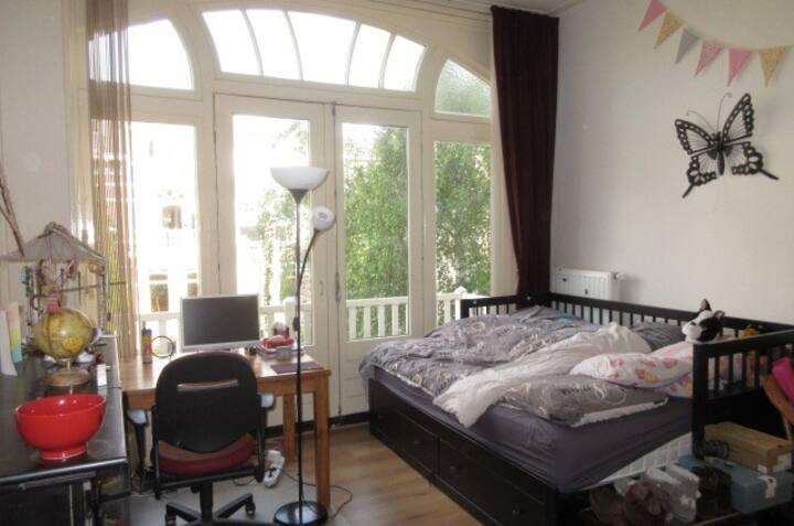 Mooie ruime kamer in het centrum van Nijmegen