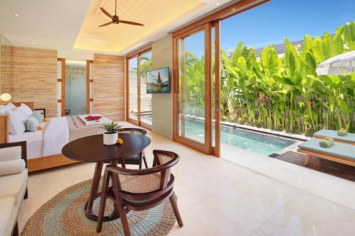Modern and Cozy 01BR Pool Villa Centre Seminyak