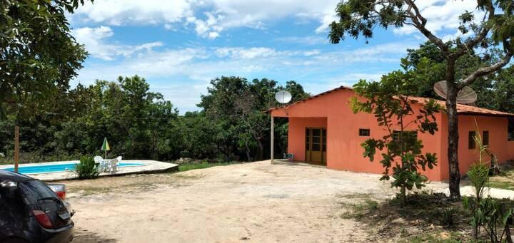 Chácara com piscina em Pirenópolis GO