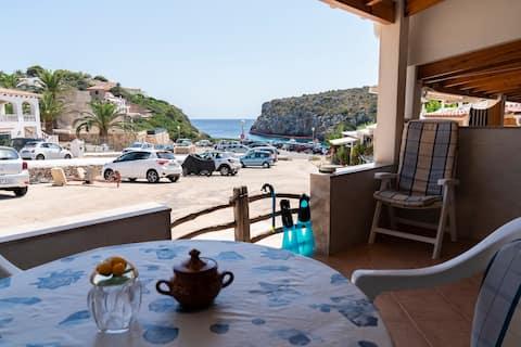 Es Canutells, Casa con vistas al Mar, 1 dormitorio