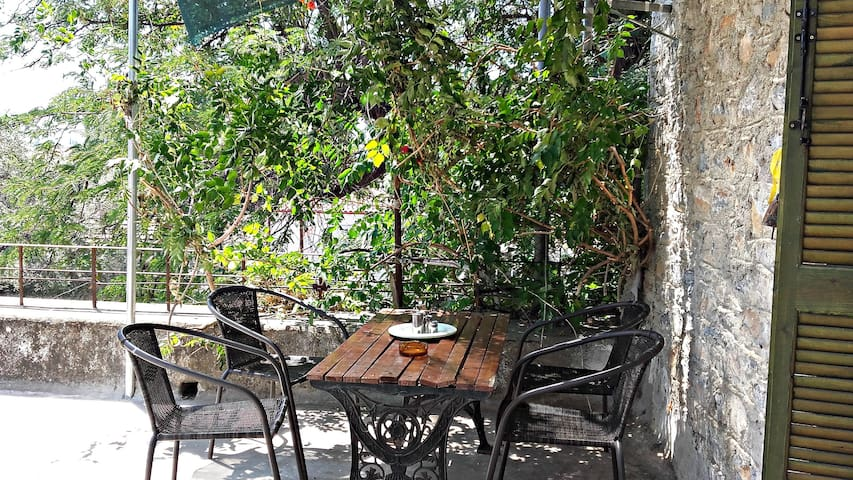 Traditional Pelion house with a terrace - Kala Nera - House