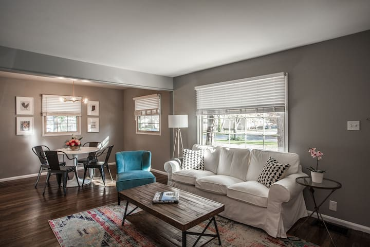 The Ralston Roost, 3 Bed in Broad Ripple