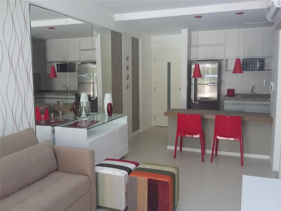 Apartamento finamente decorado
