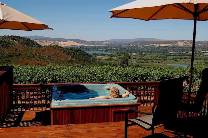 Private Winery Property with Hot Tub. Dog-Friendly