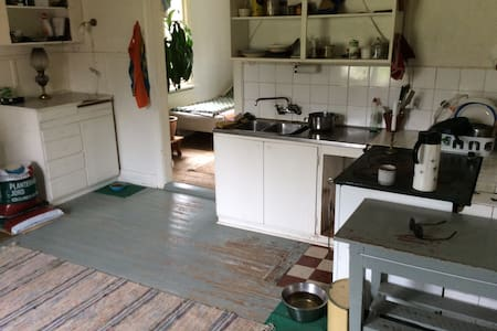 Bottomfloor appartment in old farmhouse - Torsby