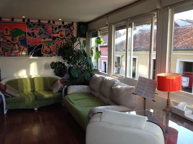 -salon  -living room