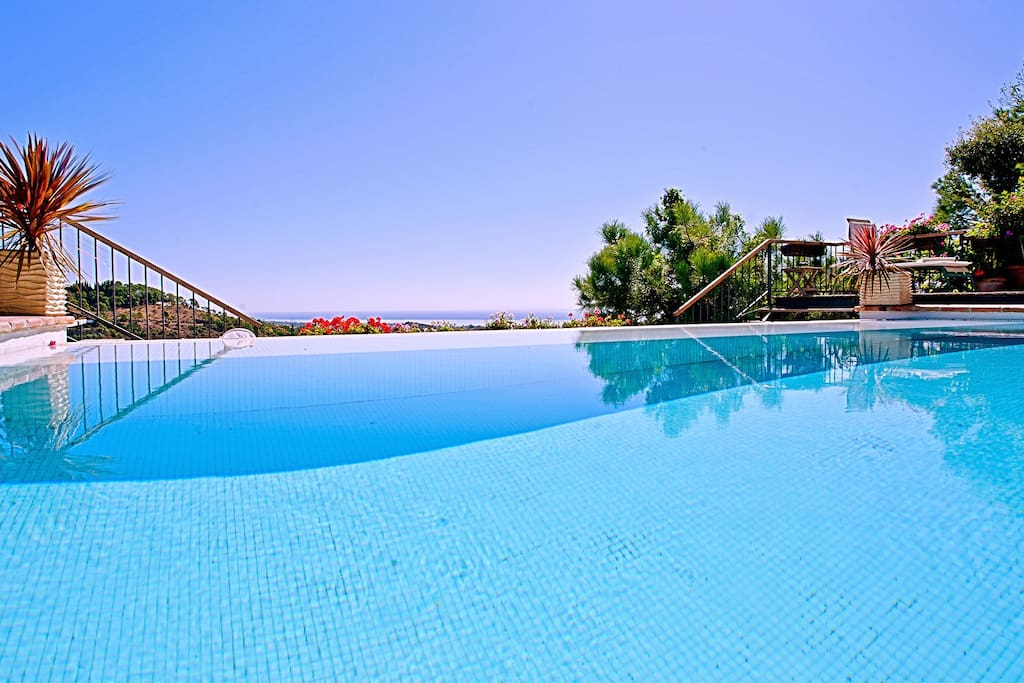 Swimming Pool at La Cotorra Holiday Villa, Spain