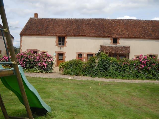 """Gite """" La Bergerie"""" Châteaux de la Loire Beauval - Mennetou-sur-Cher - House"""