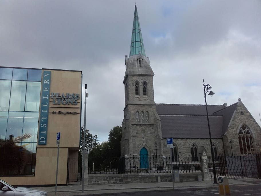 New Pearse Lyon Distillery around the corner