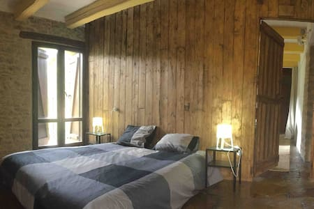 Charming room luxury view Pyrenees Aragonese