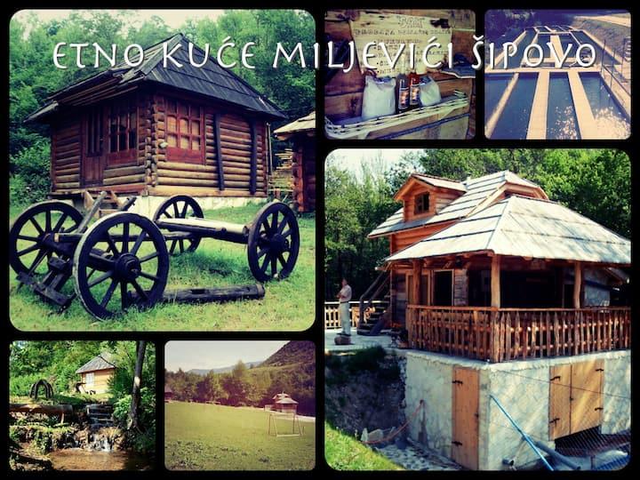 Etno kuće Miljevići