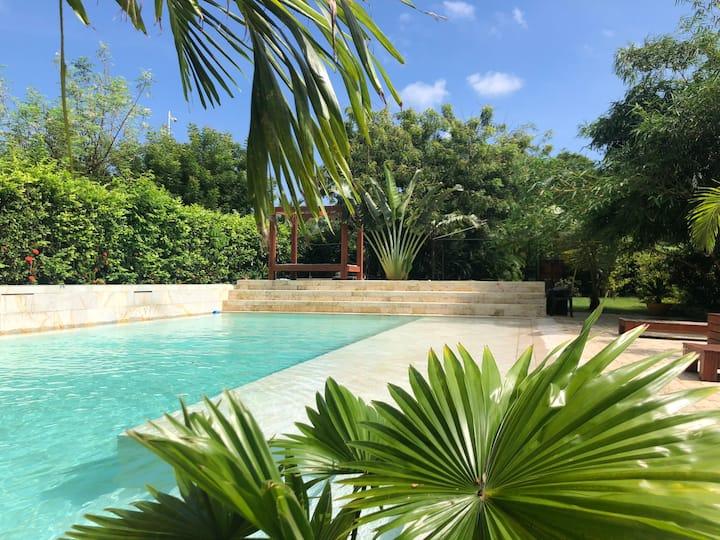 Exclusivo apartamento con piscina privada