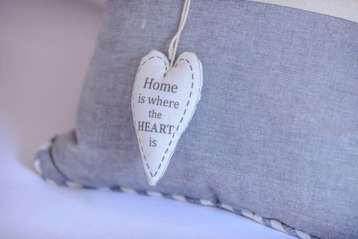 Home is where the heart is :)