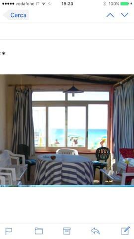 House on the beach - Marsala