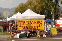 Enjoy food, live-music and local produce and any of four different Farmer's Markets in the valley.