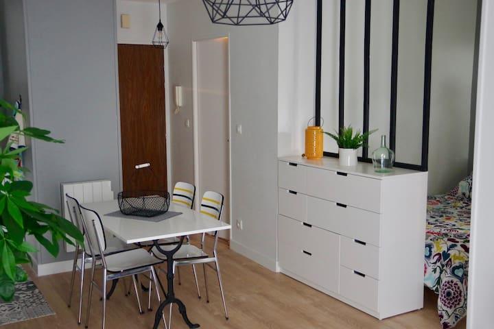 Appartement design Orléans avec parking privé