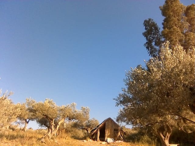 pagliaro  e slow living scelte di vita naturale - Villafranca Sicula - 小屋