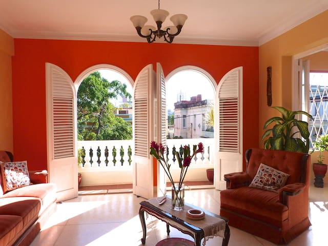 SemiPrivate two rooms apartment. Vedado