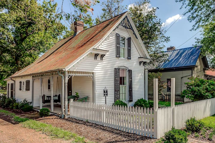 History Meets Luxury - Dreamy Leipers Fork Cottage