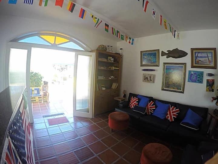 World Hostel - Canasvieiras - Masculino 6 Camas