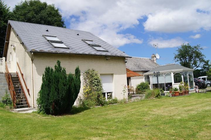 Studio indépendant dans la campagne normande