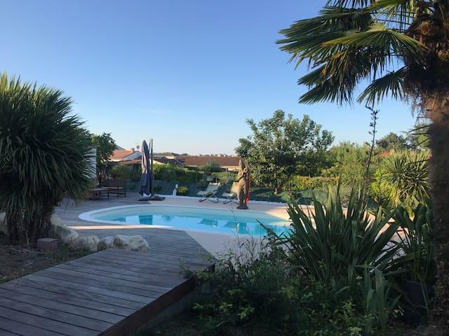 Séjours familiaux spa piscine privative chauffée