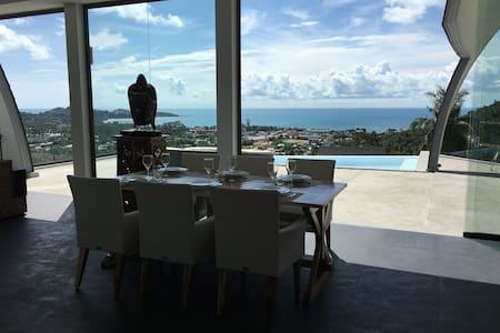 exceptionnel !! villa 3 chambres avec vue mer - Ko Samui - Villa